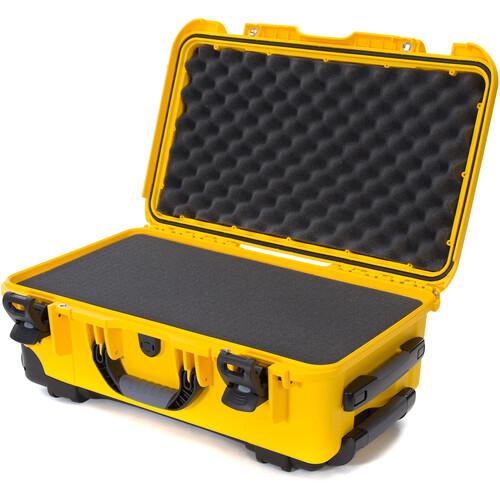Nanuk 935 Wheeled Hard Utility Case with Foam Insert (Yellow)