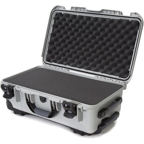 Nanuk 935 Wheeled Hard Utility Case with Foam Insert (Silver)
