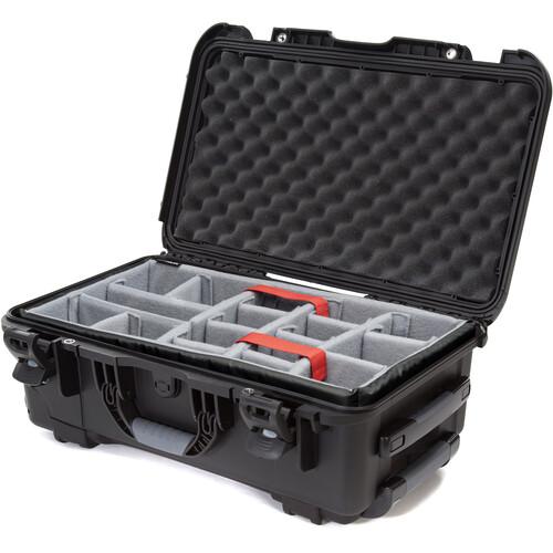 Nanuk 935 Wheeled Hard Utility Case with Padded Divider Insert (Black)