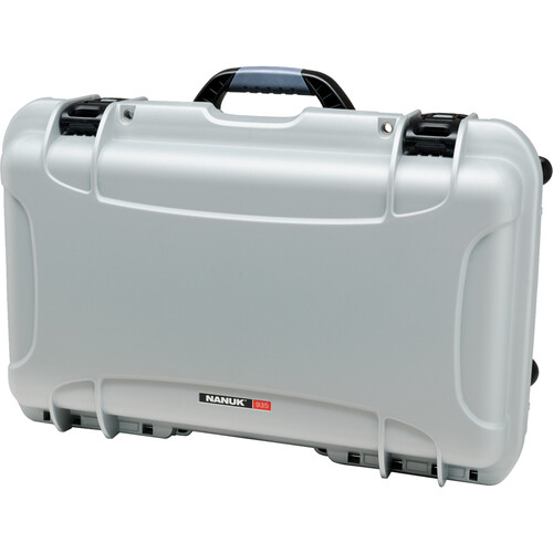 Nanuk Protective 935 Case with Padded Dividers (Silver)