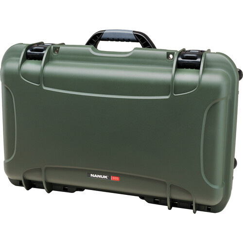 Nanuk Protective 935 Case with Padded Dividers (Olive)