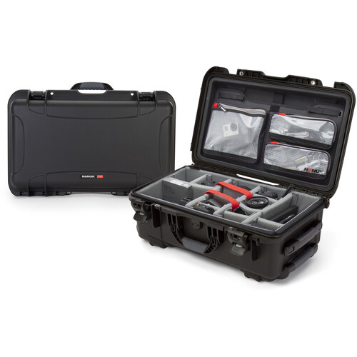 Nanuk Protective 935 Case with Dividers and Lid Organizer (Black)