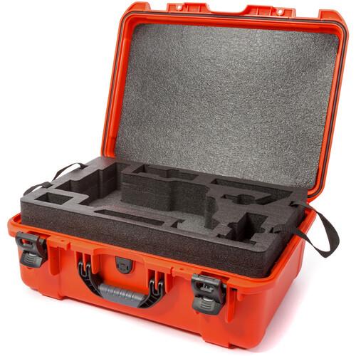 Nanuk 940 Case with Foam Insert for DJI Ronin-M (Orange)