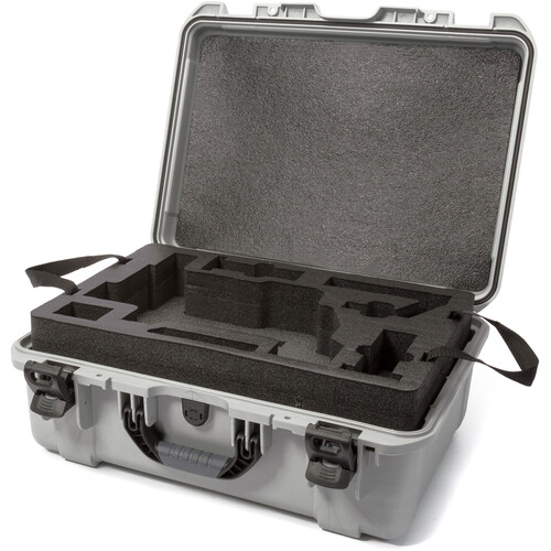 Nanuk 940 Case with Foam Insert for DJI Ronin-M (Silver)