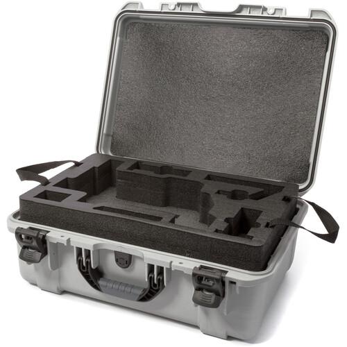 Nanuk 940 Waterproof Hard Case for DJI Ronin-M (Silver)