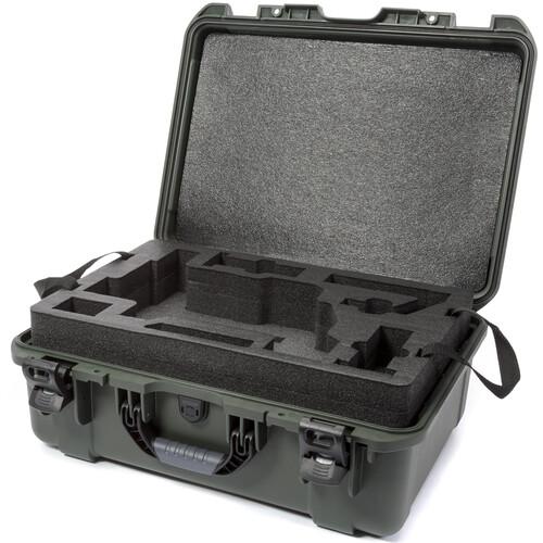Nanuk 940 Waterproof Hard Case for DJI Ronin-M (Olive)
