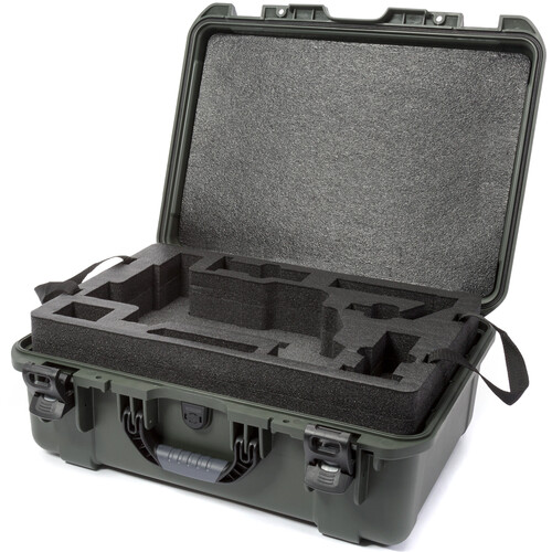 Nanuk 940 Waterproof Hard Case for DJI Ronin-M (Olive)