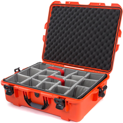 Nanuk 945 Case with Padded Dividers (Orange)