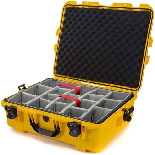 Nanuk 945 Case with Dividers (Yellow)