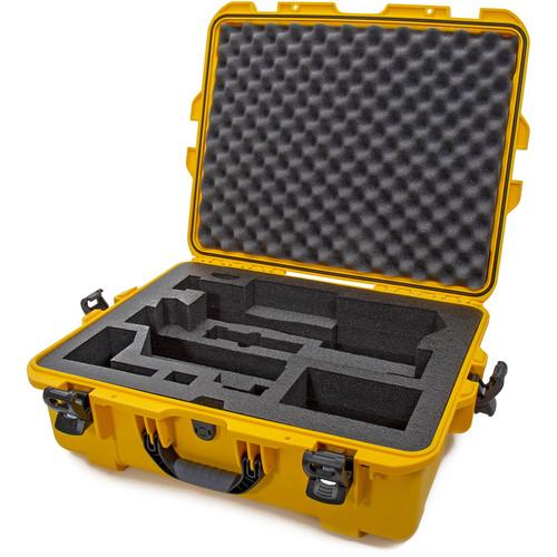 Nanuk 945 Waterproof Hard Case with Foam Insert for Zhiyun CRANE 3 LAB (Yellow)