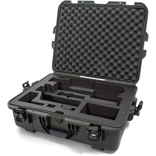 Nanuk 945 Waterproof Hard Case with Foam Insert for Zhiyun CRANE 3 LAB (Olive)