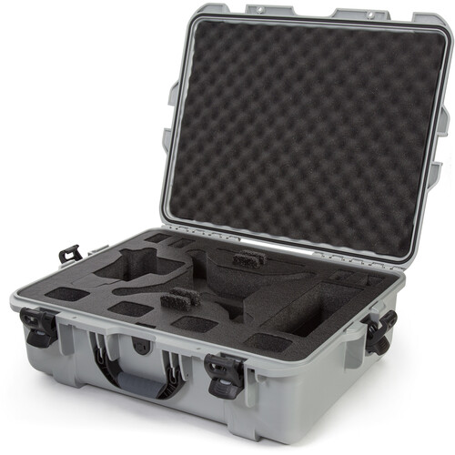 Nanuk 945 Waterproof Hard Case for DJI Phantom 4/4 Pro/4 Pro+ & Phantom 3 (Silver)