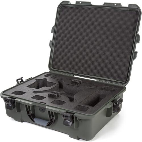 Nanuk 945 Watertight Hard Case for DJI Phantom (Olive)