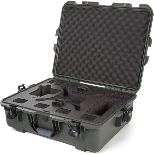 Nanuk 945 Waterproof Hard Case for DJI Phantom 4/4 Pro/4 Pro+ & Phantom 3 (Olive)