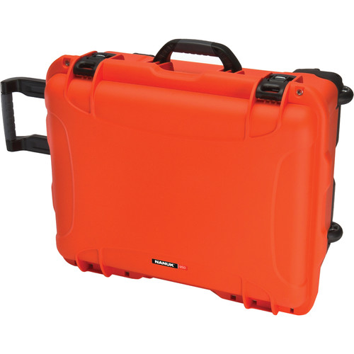 Nanuk 950 Protective Rolling Case (Orange)