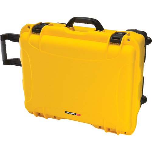 Nanuk 950 Protective Rolling Case (Yellow)