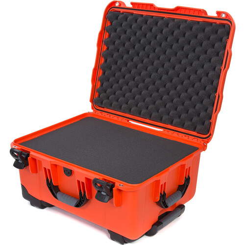 Nanuk 950 Protective Rolling Case with Foam Inserts (Orange)