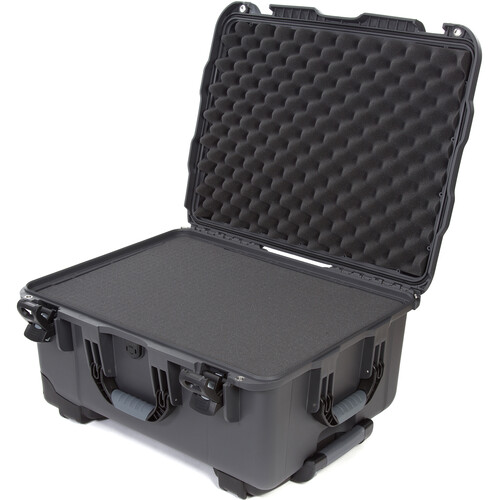 Nanuk 950 Protective Rolling Case with Foam Inserts (Graphite)