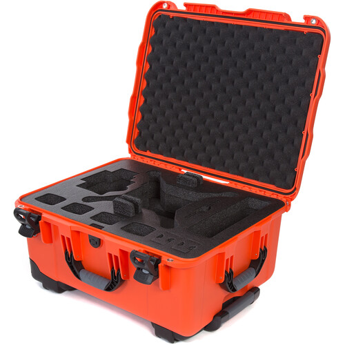 Nanuk 950 Waterproof Hard Case with Wheels for DJI Phantom 4/4 Pro/4 Pro+ & Phantom 3 (Orange)