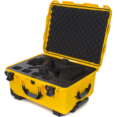 Nanuk 950 Waterproof Hard Case with Wheels for DJI Phantom 4/4 Pro/4 Pro+ & Phantom 3 (Yellow)