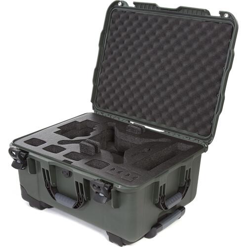 Nanuk 950 Waterproof Hard Case with Wheels for DJI Phantom 4/4 Pro/4 Pro+ & Phantom 3 (Olive)