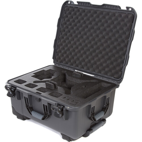Nanuk 950 Waterproof Hard Case with Wheels for DJI Phantom 4/4 Pro/4 Pro+ & Phantom 3 (Graphite)
