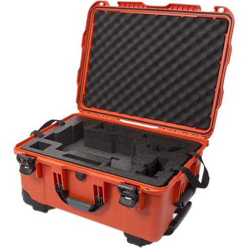 Nanuk 950 Waterproof Hard Case with Wheels for DJI Ronin-M (Orange)