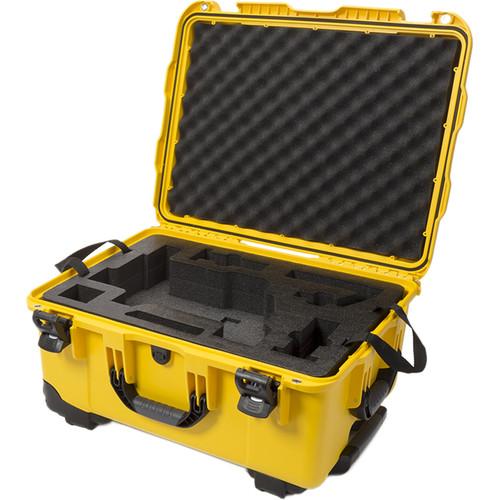 Nanuk 950 Waterproof Hard Case with Wheels for DJI Ronin-M (Yellow)