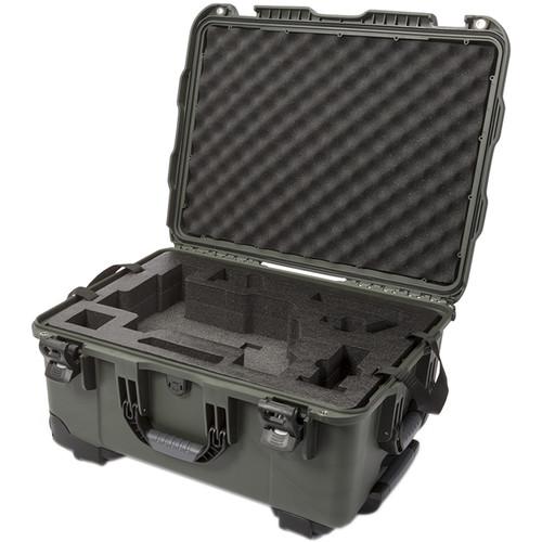 Nanuk 950 Waterproof Hard Case with Wheels for DJI Ronin-M (Olive)