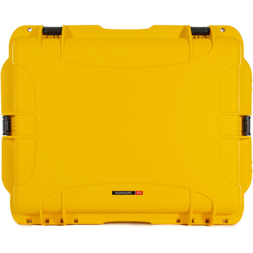 Nanuk 955 Wheeled Case without Foam (Yellow)