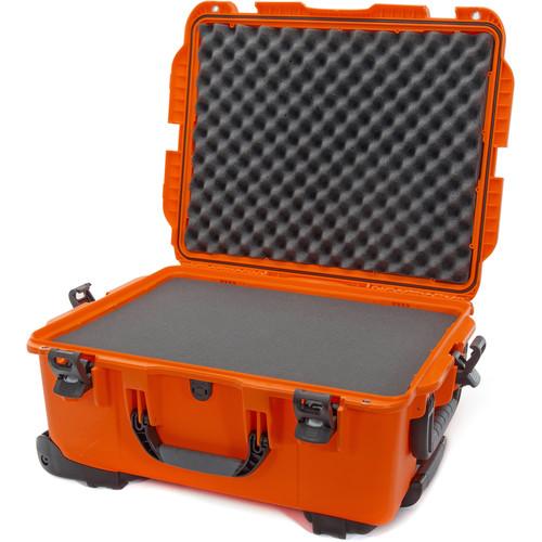 Nanuk 955 Wheeled Case with Foam (Orange)