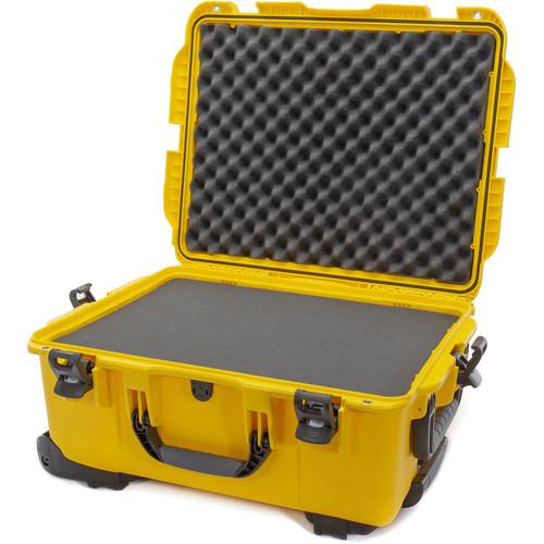 Nanuk 955 Wheeled Case with Foam (Yellow)
