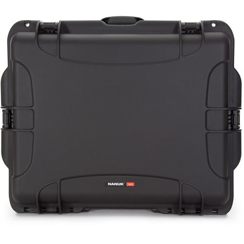 Nanuk 960 Rolling Case (Black)