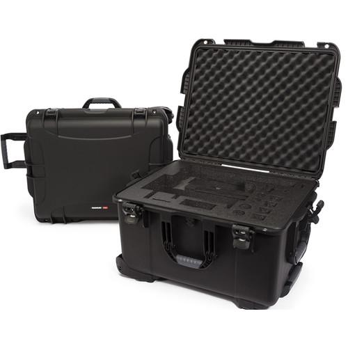 Nanuk 960 Waterproof Hard Case with Wheels for DJI Ronin-MX (Black)