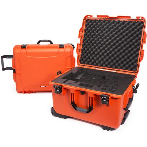 Nanuk 960 Waterproof Hard Case with Wheels for DJI Ronin-MX (Orange)