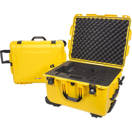 Nanuk 960 Waterproof Hard Case with Wheels for DJI Ronin-MX (Yellow)