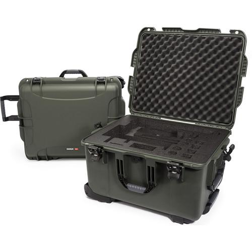 Nanuk 960 Waterproof Hard Case with Wheels for DJI Ronin-MX (Olive)