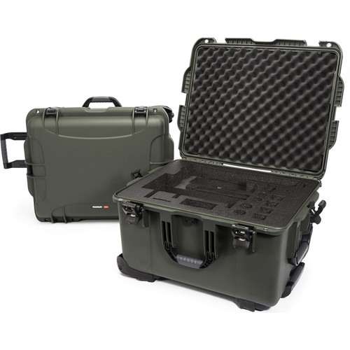 Nanuk 960 Waterproof Hard Case with Wheels for DJI Ronin-MX (Olive)