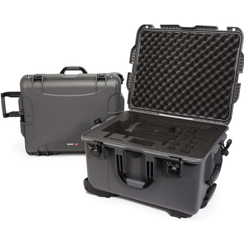 Nanuk 960 Waterproof Hard Case with Wheels for DJI Ronin-MX (Graphite)