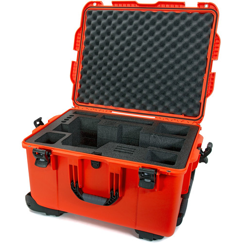 Nanuk 960 Waterproof Hard Case with Wheels for Black Magic URSA (Orange)