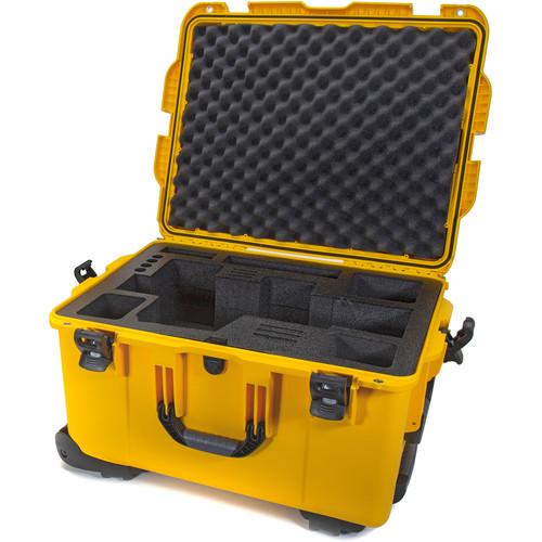 Nanuk 960 Waterproof Hard Case with Wheels for Black Magic URSA (Yellow)