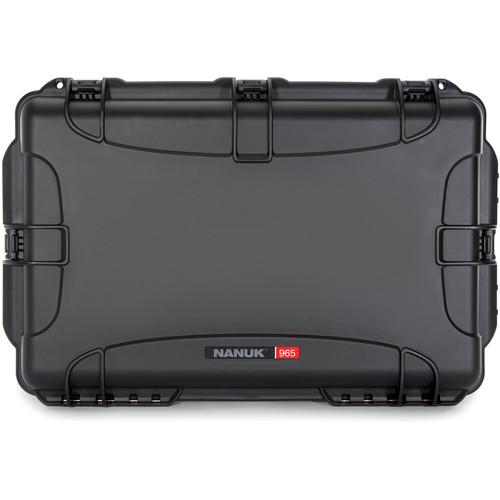 Nanuk 965 Wheeled Case without Foam (Black)