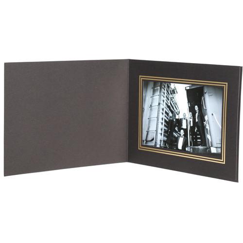 "National Photo Folders Premier Photo Folder (6 x 4"", 25-Pack, Black)"