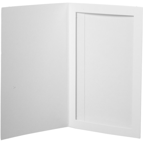 """National Photo Folders Slip-In Photo Folder (5 x 7"""", 25-Pack, White)"""