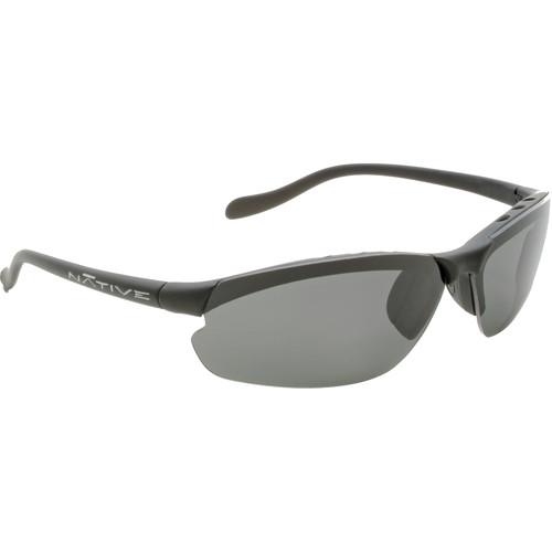 Native Eyewear Dash XP Sunglasses (Charcoal - Silver Reflex Lens)
