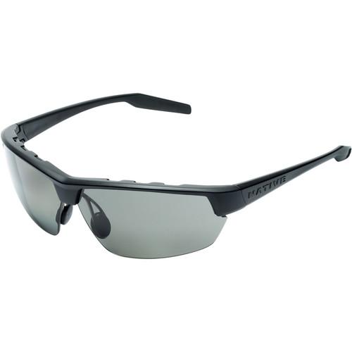 Native Eyewear Kodiak Sunglasses (Asphalt - Gray Lens)