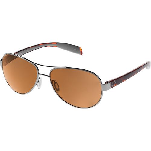 Native Eyewear Haskill Sunglasses (Chrome/Maple Tortoise, Brown Lens)