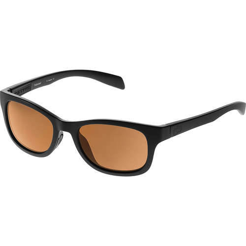 Native Eyewear Highline Sunglasses (Asphalt - Brown Lens)