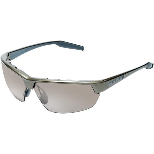 Native Eyewear Hardtop Ultra Sunglasses (Gunmetal - Silver Lens)