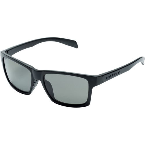 Native Eyewear Flatirons Sunglasses (Asphalt - Gray Lens)